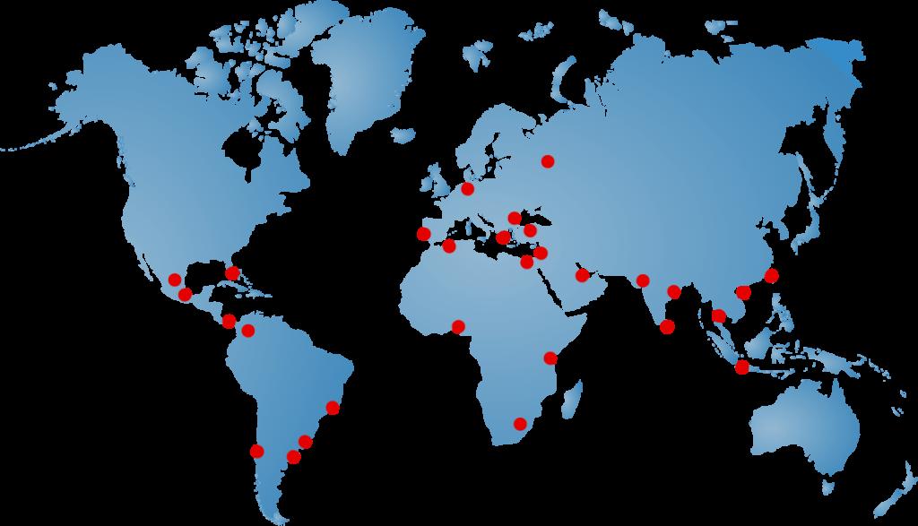 Locaciones Globales