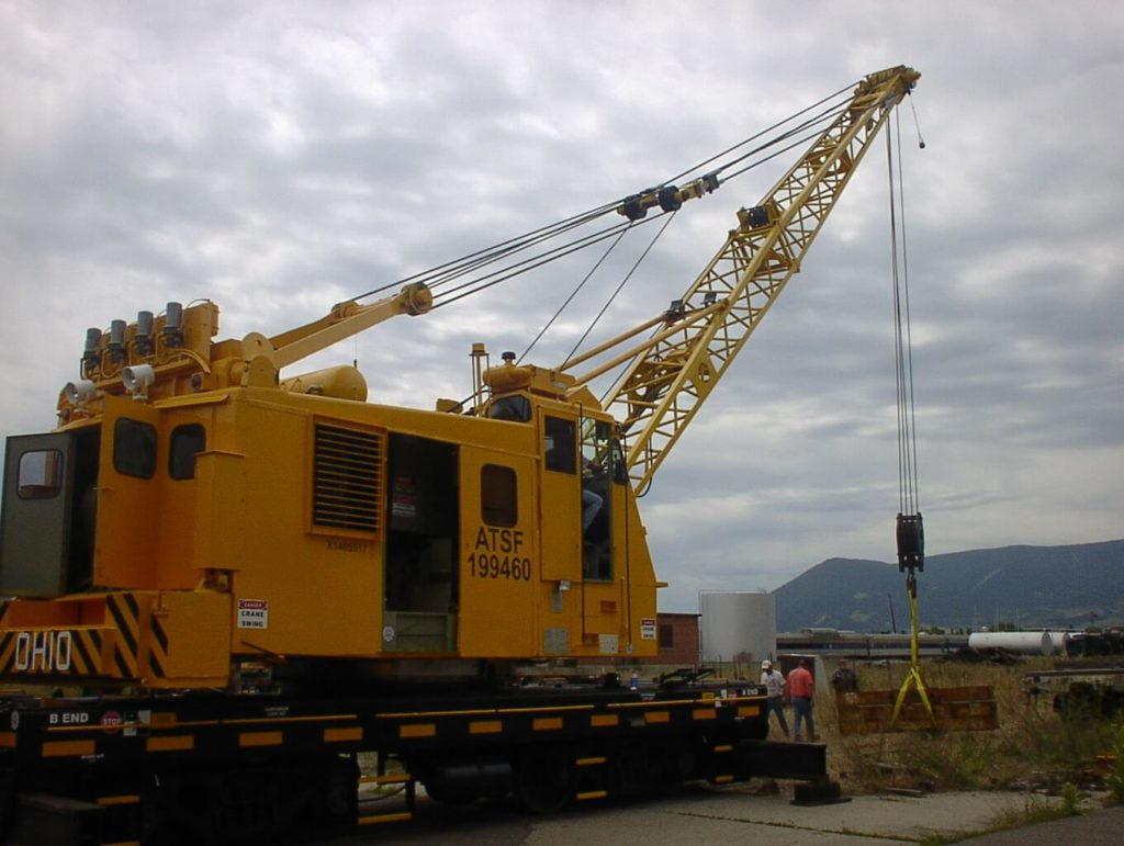 Rail Cranes lifting capacity 15 Tons to 250 Tons