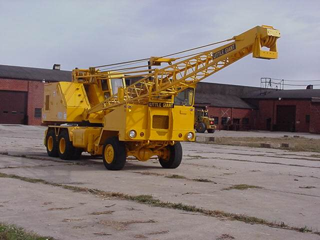 Truck (High Rail) Cranes