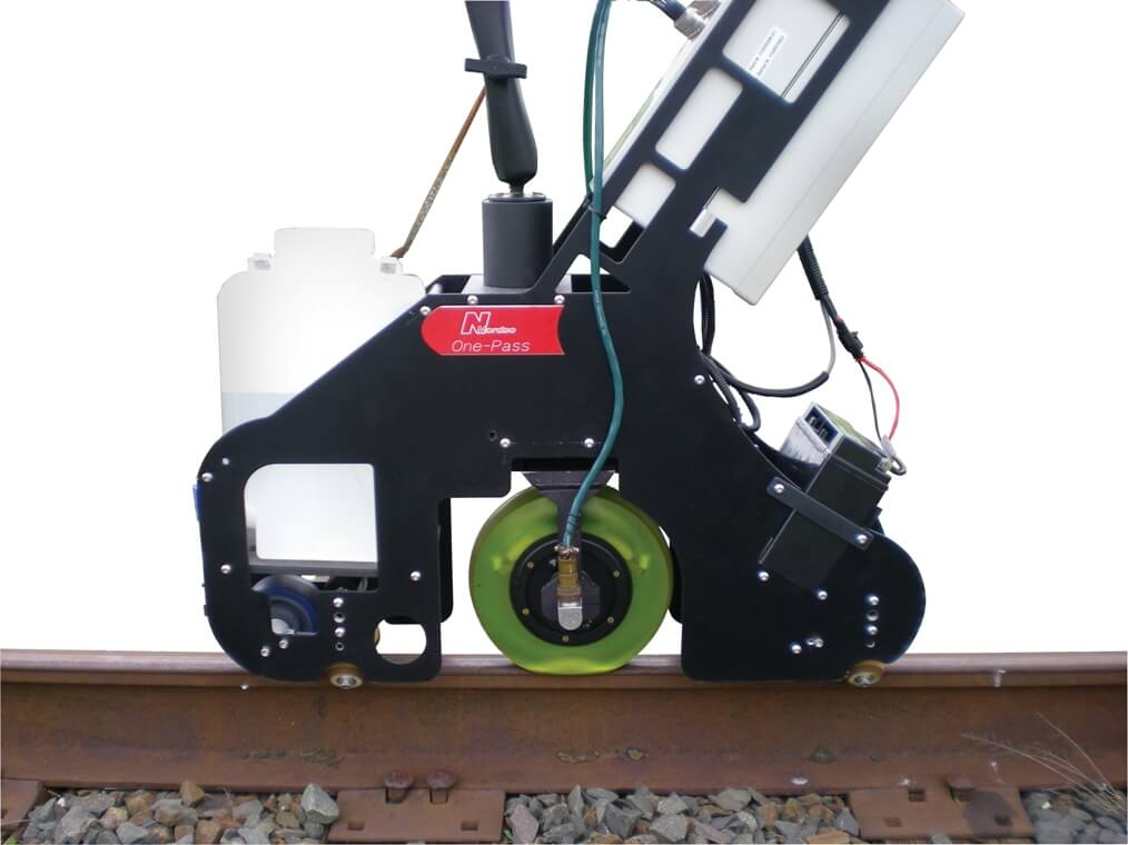 Nordco One-Pass Rail Flaw Detection